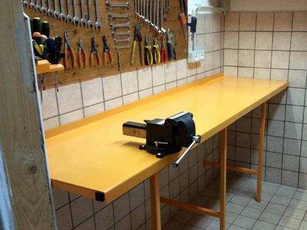 Tavolo Da Lavoro Grande : Banco da lavoro officina bologna modena u costruzione attrezzatura